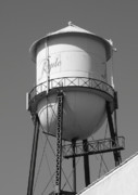 San Joaquin Delta Framed Prints - Water Tower Ryde CA Framed Print by Troy Montemayor