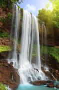 Waterfall Print by MotHaiBaPhoto Prints