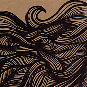 Wave Drawings - Wave by HD Connelly