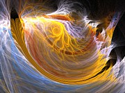 Apophysis Photos - Wave by Michele Caporaso