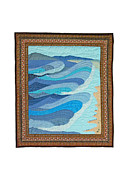 England Tapestries - Textiles - Waves by Deborah King