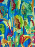 Group Portraits Originals - We Are All One by Judith Redman