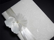 Lace Jewelry - Wedding guest book by Gorean Olga