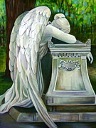 Wetmore Prints - Weeping Angel Print by Susan Santiago