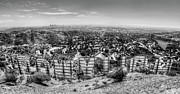 Los Angeles Photos - Welcome to Hollywood - BW by Natasha Bishop