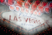 Information Prints - Welcome To Las Vegas Sign Print by Bryan Mullennix