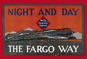 Label Prints - Wells Fargo Express, 1915 Print by Granger