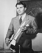 Suit And Tie Prints - Wernher Von Braun 1912-1977, Circa Print by Everett