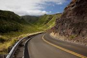 Long Street Prints - West Maui Road Print by Jenna Szerlag