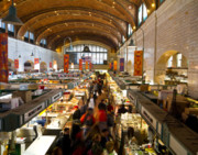 West Side Market  Print by Tim  Fitzwater