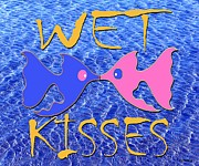 Animals Love Posters - Wet Kisses Poster by Patrick J Murphy