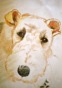 Friendly Paintings - What a Face by Debi Pople