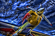 Planes Art - When Bulls Fly by Joetta West