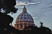 Artistic Landscape Photos Photos - When in Rome by Tom Prendergast