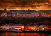 Colorful Photos Digital Art Posters - Whitby Poster by Svetlana Sewell