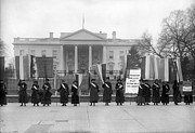 Suffragette Prints - White House: Suffragettes Print by Granger