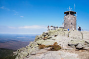 Outlook Prints - Whiteface Mtn. Tower Lookout Print by Sherry  Curry