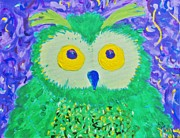 Yellow Beak Paintings - Who by Yshua The Painter