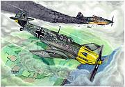Aviation Mixed Media - Wicked Attack by Trenton Hill