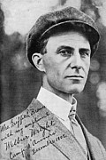 Signed Photo Posters - Wilbur Wright, Us Aviation Pioneer Poster by Science, Industry & Business Librarynew York Public Library