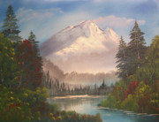 River Paintings - Wilderness River by Chet Wheeler