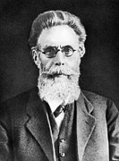 Wilhelm Posters - Wilhelm Roentgen, German Physicist Poster by