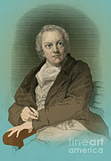 Print Making Prints - William Blake, English Poet And Painter Print by Photo Researchers