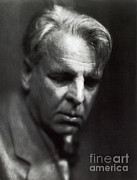 Notable Posters - William Butler Yeats Poster by Photo Researchers