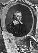 Milestone Prints - William Harvey, English Physician Print by Photo Researchers