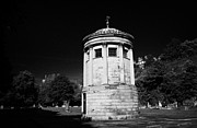 Liverpool Posters - William Huskisson Memorial in St James Cemetery Liverpool merseyside england uk  Poster by Joe Fox