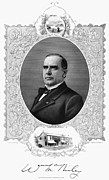 William Mckinley Prints - WILLIAM McKINLEY Print by Granger
