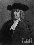 Colonial Man Posters - William Penn, Founder Of Pennsylvania Poster by Photo Researchers