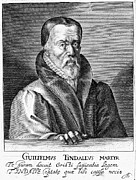 New Martyr Photo Metal Prints - William Tyndale (1492?-1536) Metal Print by Granger