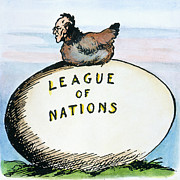 American League Posters - Wilson: League Of Nations Poster by Granger