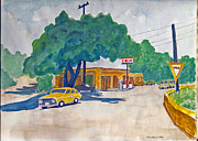 Busy Mixed Media - Wimberley Texas  by Fred Jinkins