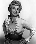1950s Portraits Metal Prints - Winchester 73, Shelley Winters, 1950 Metal Print by Everett