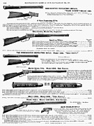 1895 Prints - Winchester Rifles Print by Granger
