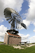 Zaanse Schans Prints - Windmill Print by Chris Martin-bahr