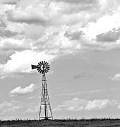 Rotate Prints - Windmill Print by Malania Hammer