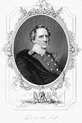Sideburns Prints - Winfield Scott (1786-1866) Print by Granger