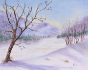 Roseann Gilmore Art - Winter by Roseann Gilmore