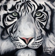 Tiger Pastels - Wisdom by Sandi Dawn McWilliams
