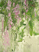 Vine Paintings - Wisteria by Dawn Chevoya