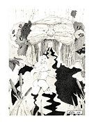 Sheena Prints - Wolf Cave Print by Allen Klein