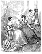 Toiletry Prints - Womens Fashion, 1867 Print by Granger