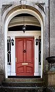 Wooden Door Prints - Wooden Door Savannah Print by Thomas Marchessault