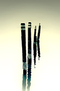 Pole Prints - Wooden Piles Print by Joana Kruse