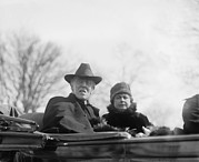 Bolling Photos - Woodrow Wilson 1856-1924 And His Second by Everett