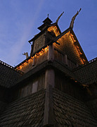 Lights Pyrography - World Showcase - Norway Pavillion by AK Photography