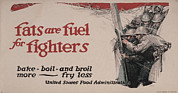 1910s Poster Art Posters - World War I, Poster Showing Soldiers Poster by Everett